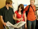 Exkurze v Pardubickém deníku