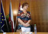Senátorka a předsedkyně KONEP Miluše Horská